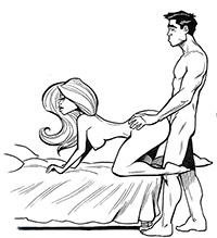 У женщин оргазм